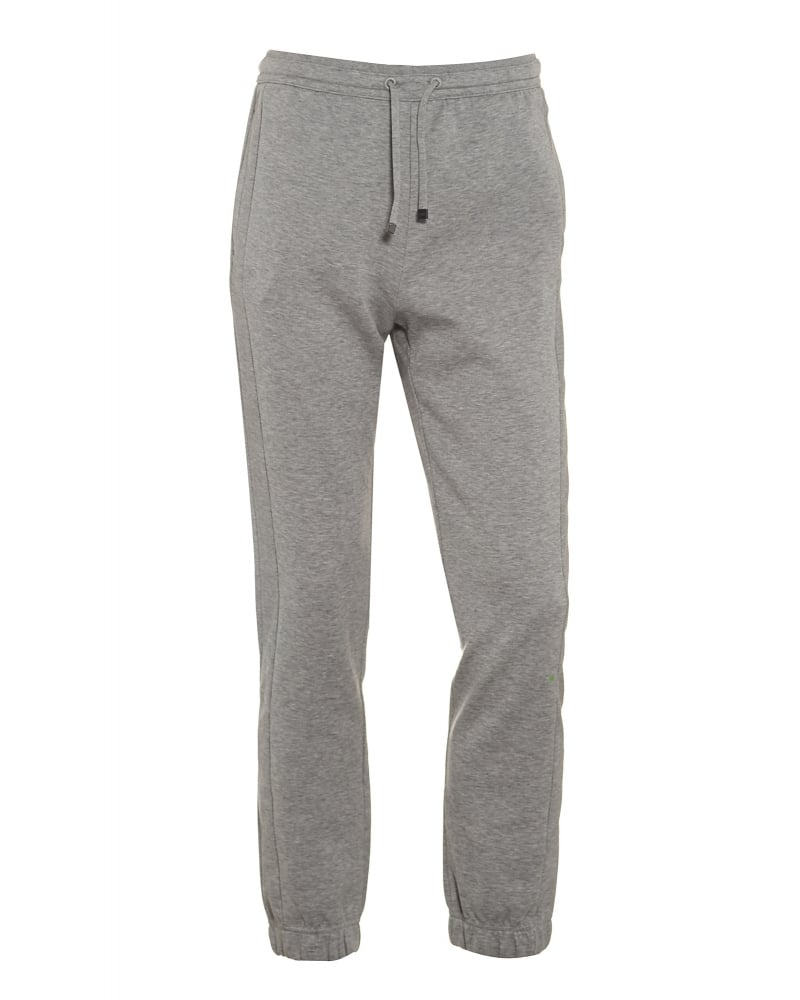 Mens Track Pants Hadiko Light Grey Cuffed Tracksuit Bottoms