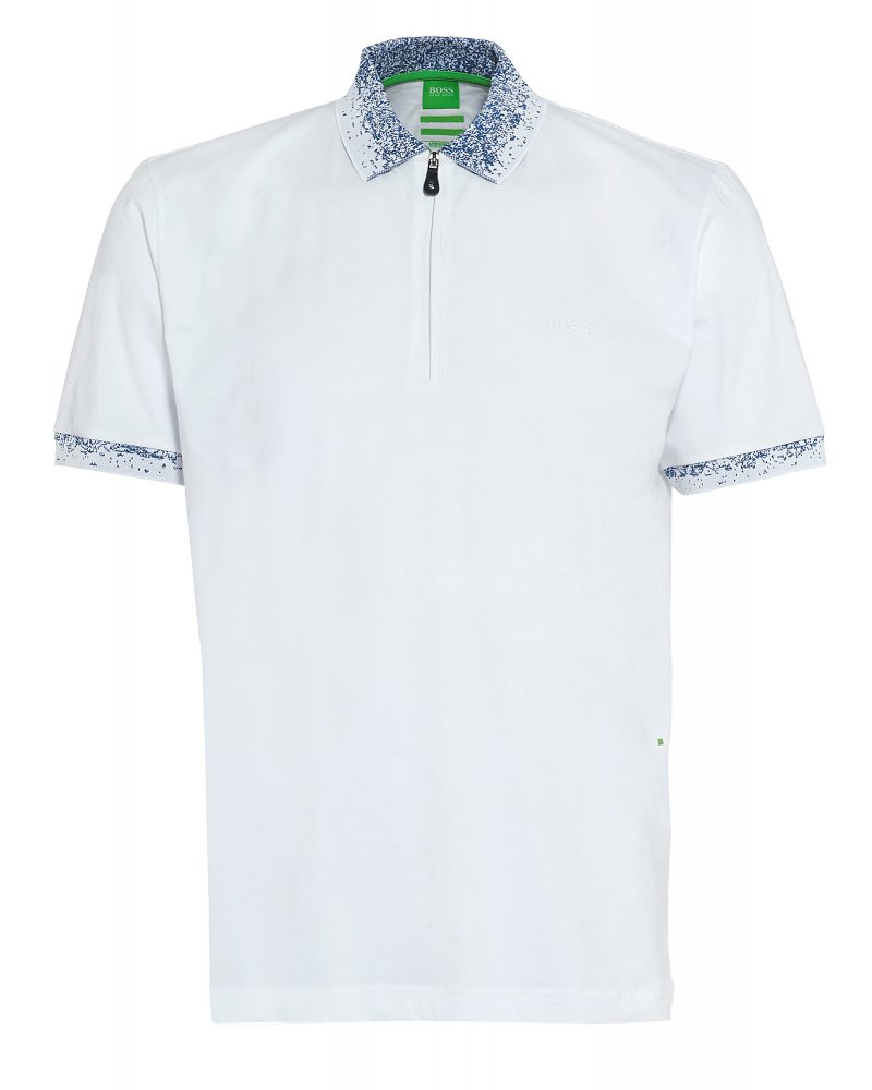 boss white polo shirt
