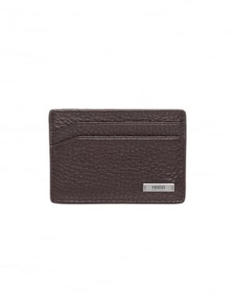 Mens Element_S Card Black Leather Cardholder
