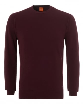 Mens Albonon Jumper, Crew Neck Wine Tasting Sweater