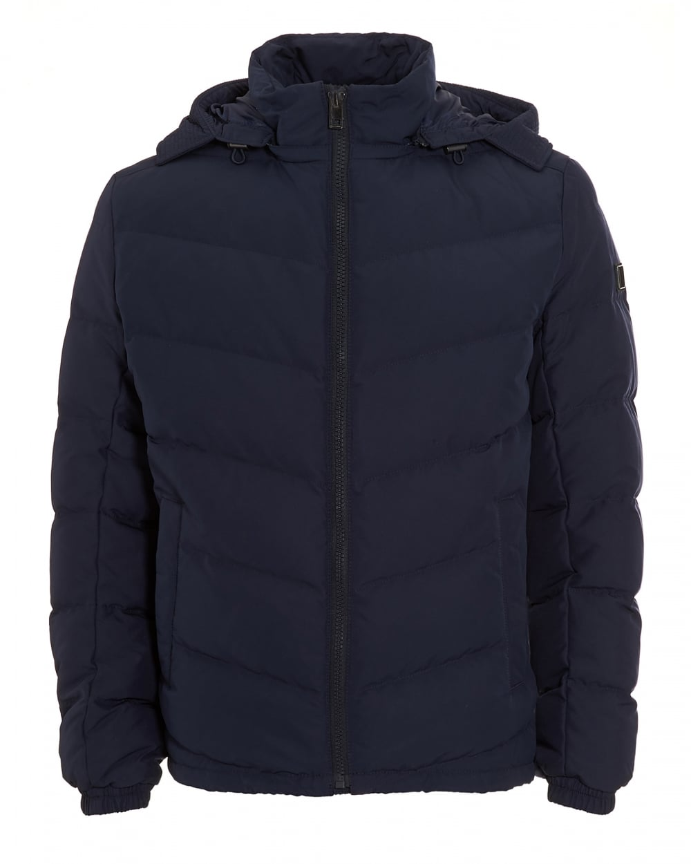 Hugo boss hooded down puffer coat