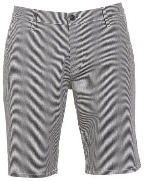 Mens Sairy8-Shorts-W Shorts, Navy White Stripe Short