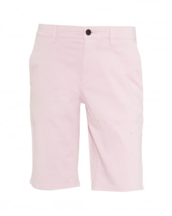 Mens Schino-Slim-Shorts-D Slim Fit Chino Pink Shorts