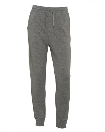 Mens South Cuffed Grey Trackpant
