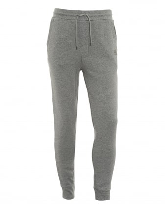 Mens South Track Pants, Grey Logo Sweatpants