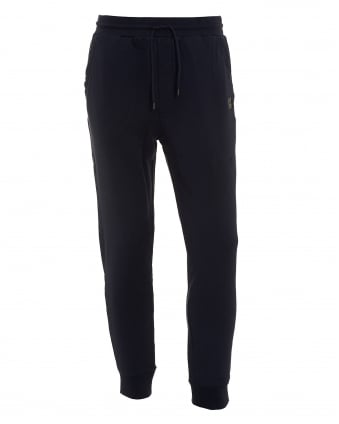 Mens South Track Pants, Navy Logo Sweatpants