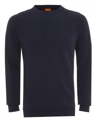 Mens Sweater, Wheel Slim Fit Navy Blue Track Top