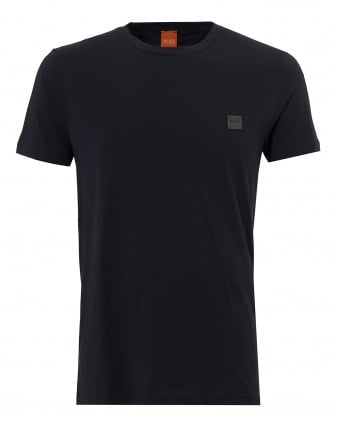 Mens Tommi T-Shirt, Slim Fit Cotton Sky Captain Navy Tee