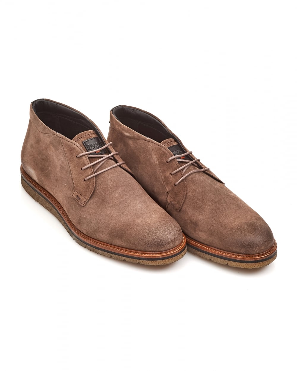 hugo orange mens tuned desb beige suede desert boots
