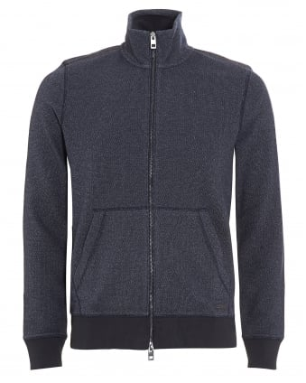 Mens Ztark Jumper, Grey Quarter Zip Sweatshirt