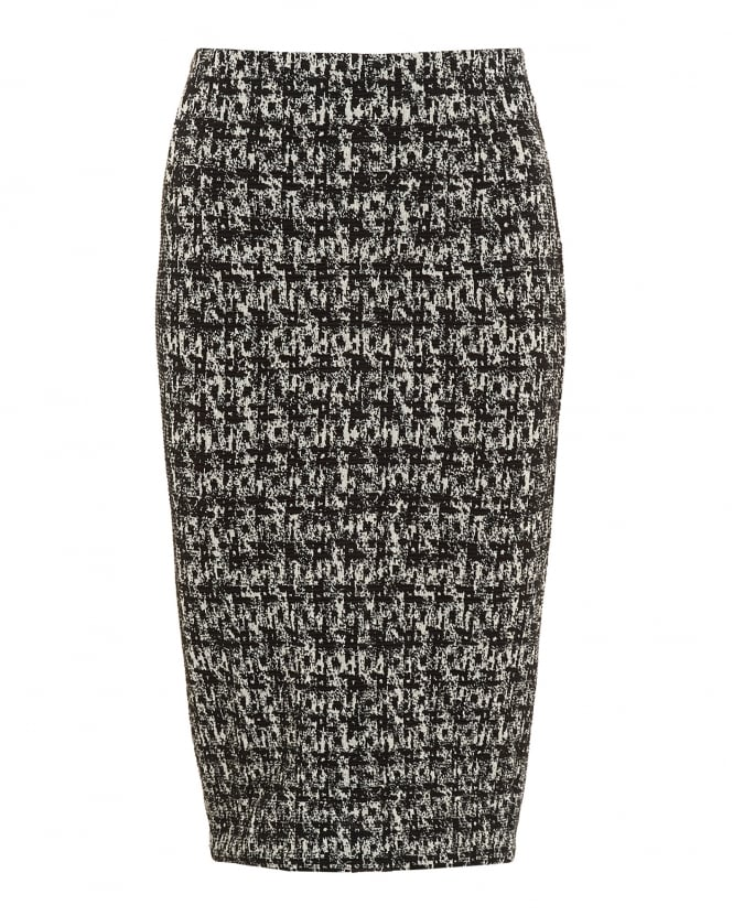 I Blues Womens Indio Skirt, Monochrome Jersey Pencil Skirt