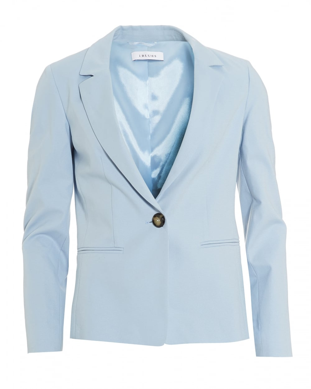 Womens Olio Jacket, Otterman Light Blue Blazer Jacket
