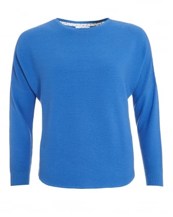 Womens Ordito Jumper, Raglan Light Blue Jumper