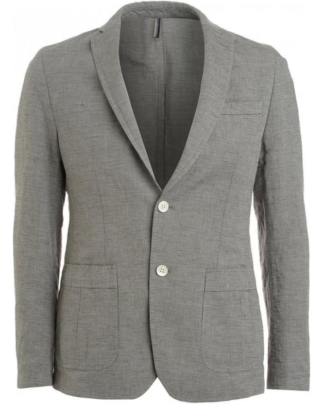 Hugo Boss Black Jacket, Brown And Grey Blazer