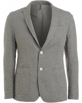 Jacket, Brown And Grey Blazer