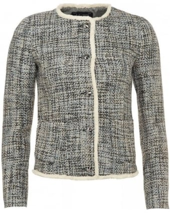 Jacket, Tweed Boucle Blazer