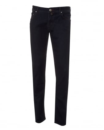Mens Dark Wash Jeans, Dark Indigo Slim Fit Denim