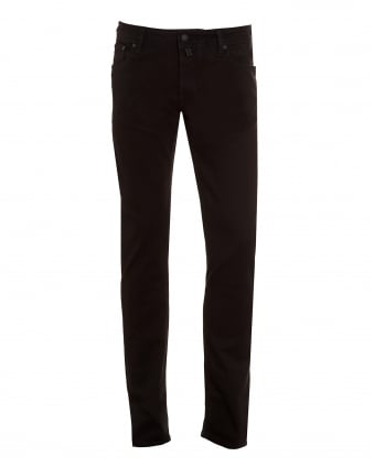 Mens Jeans, Slim Fit Black Denim