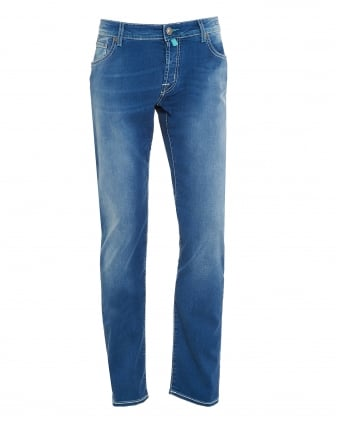 Mens Light Fade Jean, Slim Fit Light Wash Jeans