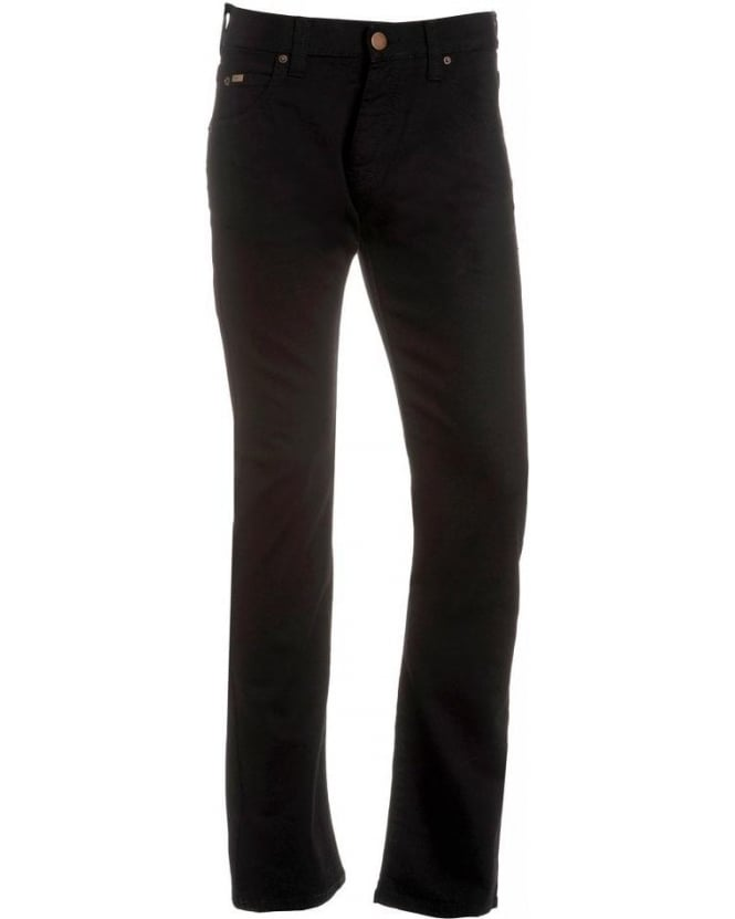 Armani Collezioni Jeans, Black Regular Fit Jean