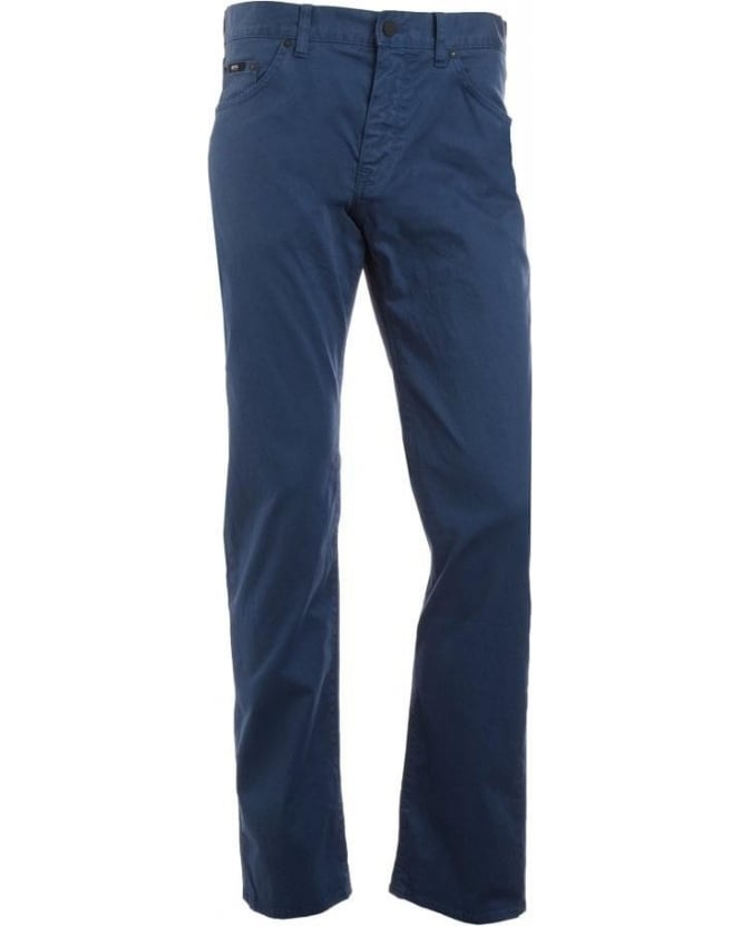 Hugo Boss Black Jeans, Blue Regular Fit 'Maine 1-10' Jean