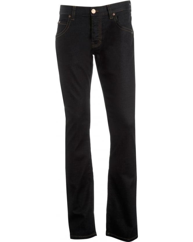 Armani Collezioni Jeans, Dark Clean J08 Regular Fit Jean