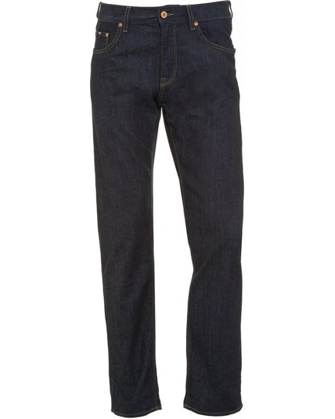 Hugo Boss Black Jeans, Dark Clean Regular Fit 'Maine1 Arkansas' Jean