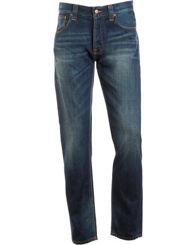 Nudie Jeans Jeans, Mid Cross Steady Eddie Jean