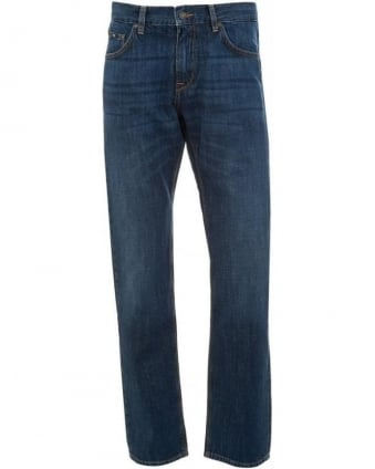 Jeans, Mid Wash Regular Fit 'Maine1' Jean
