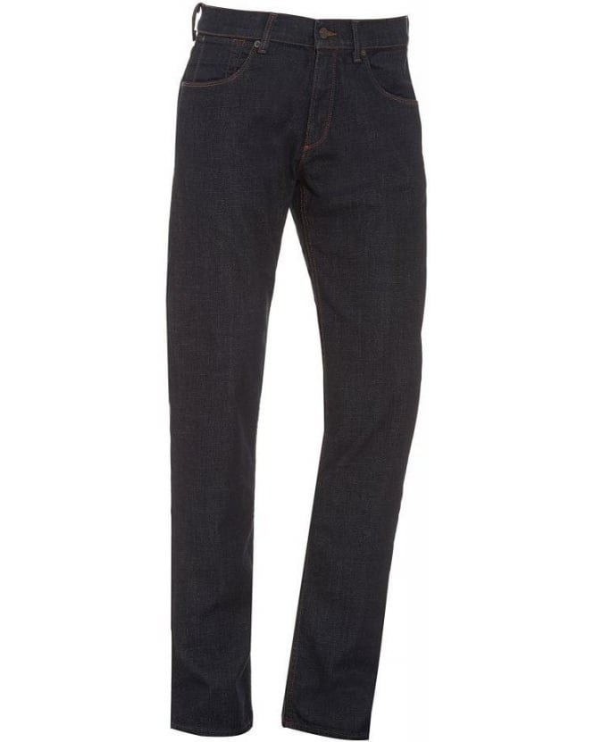 For All Mankind Jeans Navy The Straight Ashville Jean