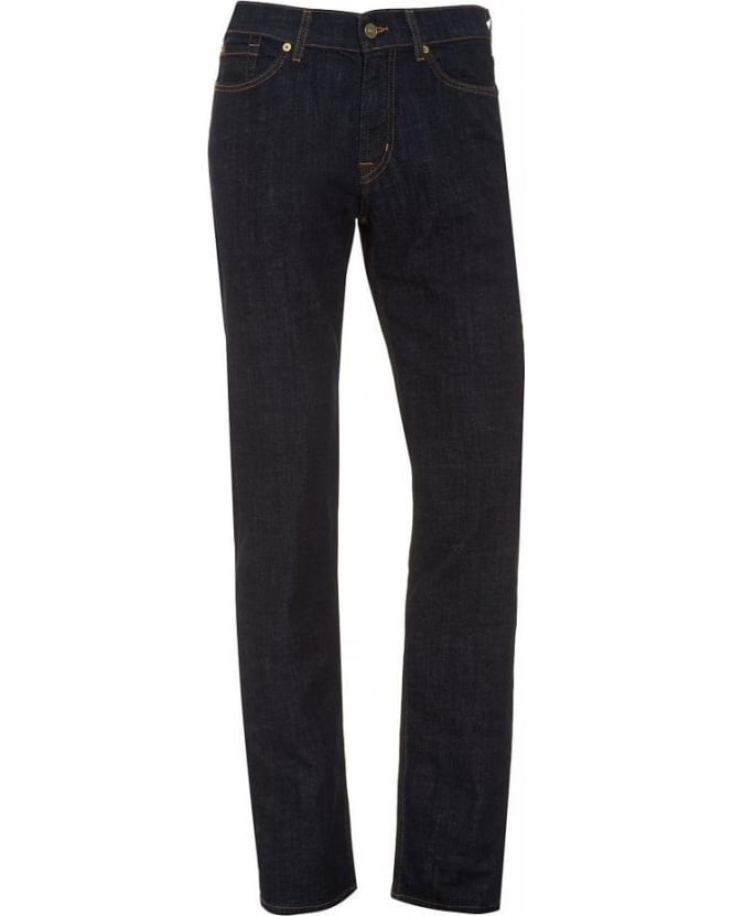 For All Mankind Jeans Slimmy Hollywood Stretch Rinse Blue Jean