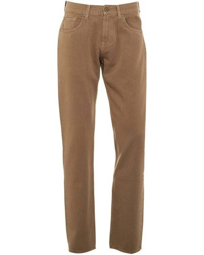 For All Mankind Jeans The Straight Cashmere Taupe Jean