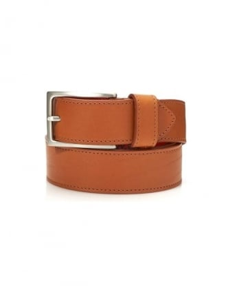 Dirk Jeans Rosewood Tan Leather Belt