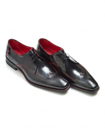 Mens Blaylock Hunger Beetle Red Punch Black Shoes