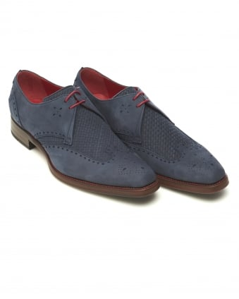 Mens Passenger Dexter Weave Atlantic Blue Shoe