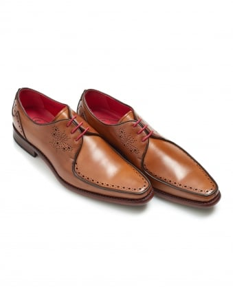 Mens Surreal Melly Apron Moth Punch Travi Mahogany Shoes