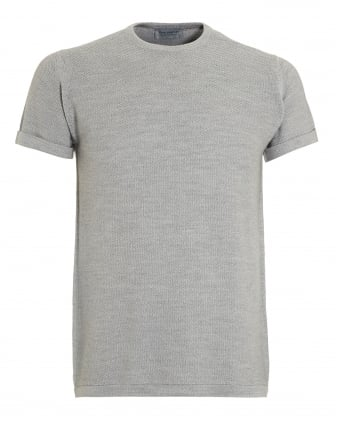 Mens 2Singular T-Shirt, Bardot Grey Honeycomb Tee