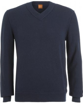 Jumper, 'Kaamillo' Lambswool V-Neck Knit