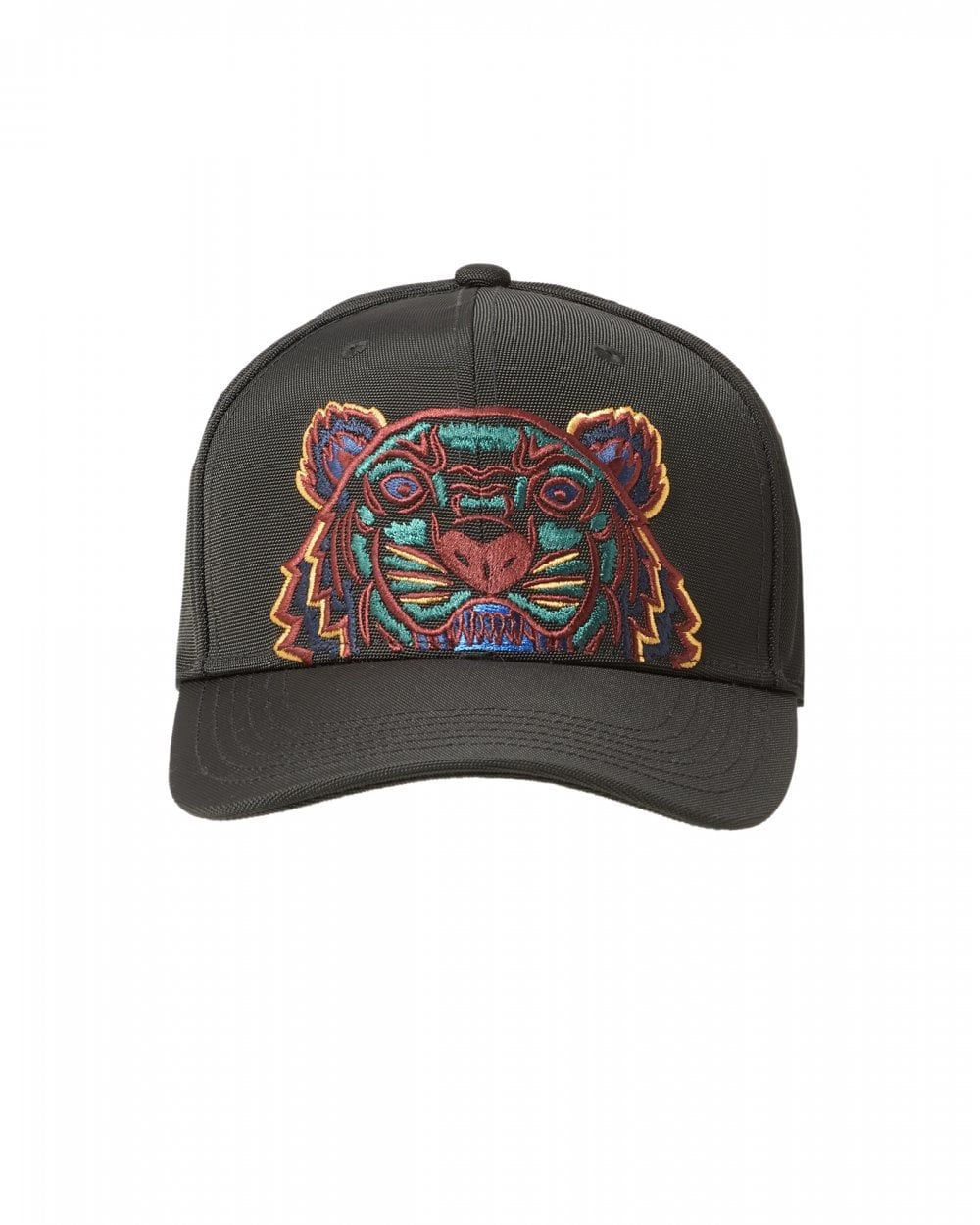 4fd37707 Mens Canvas Tiger Cap, Black Hat