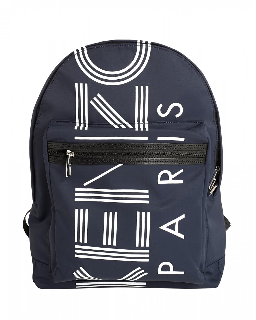c0b2cbbea Kenzo Mens Large Logo Backpack, Blue Canvas Rucksack