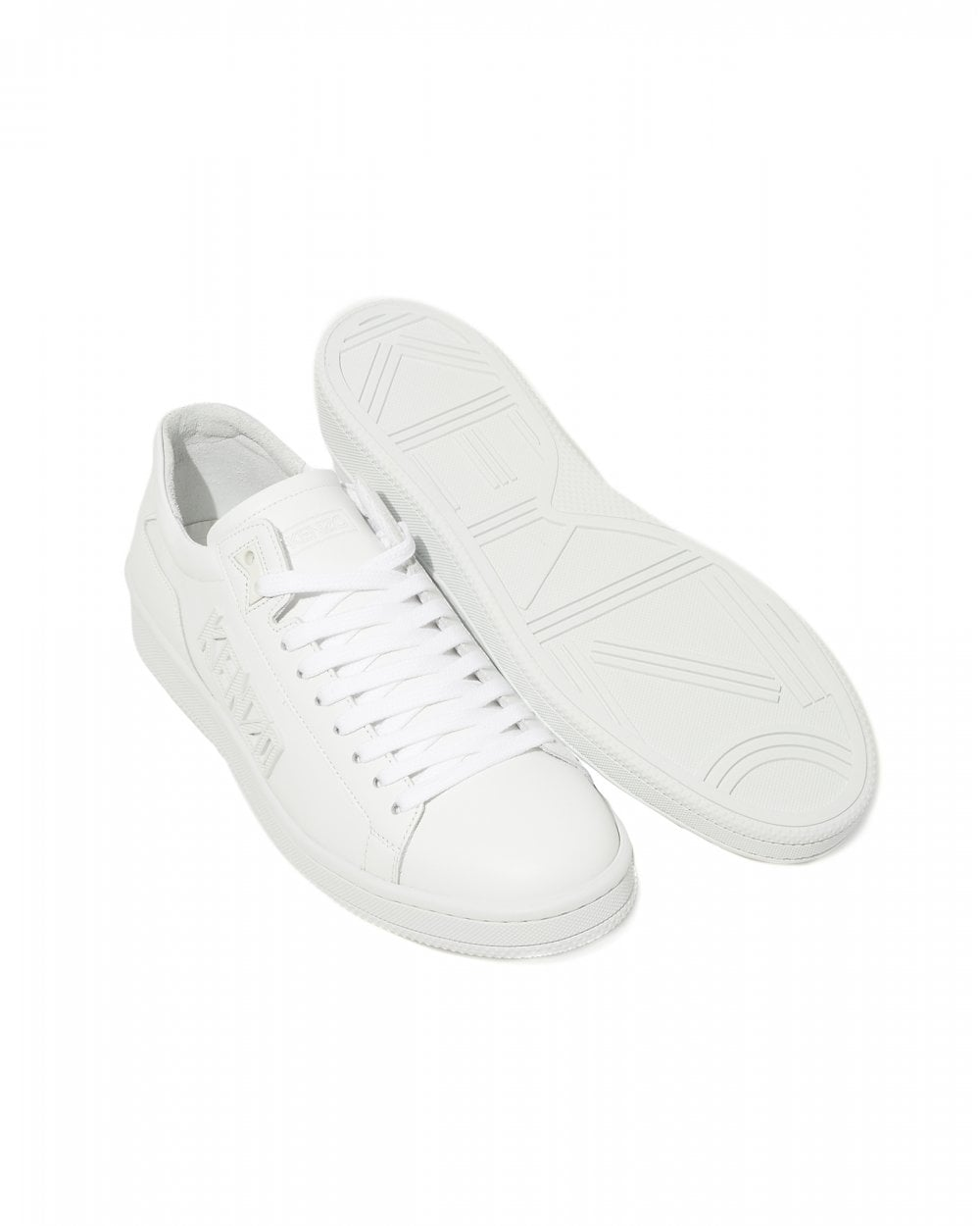 75a3487103 Mens Low Top Tennix Trainers, White Logo Sneakers