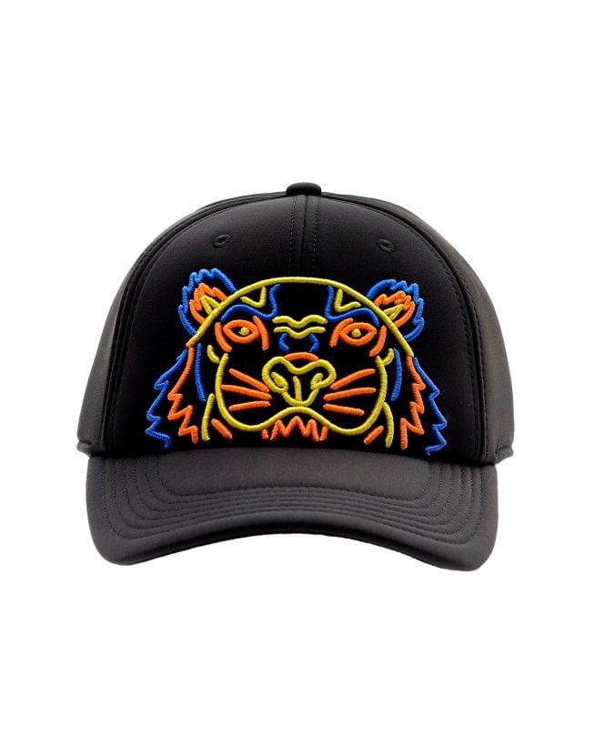 2c699a8047d Kenzo Mens Neoprene Neon Tiger Baseball Cap