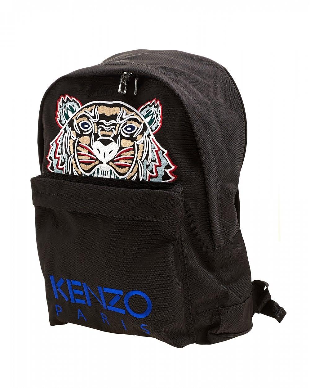 1e7cd3877fe8 Kenzo Mens Tiger Canvas Backpack