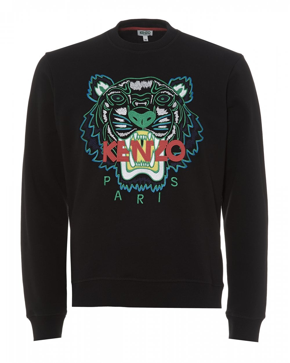 e63b9f68754 Kenzo Mens Tiger Head Sweatshirt, Black Icon Sweat