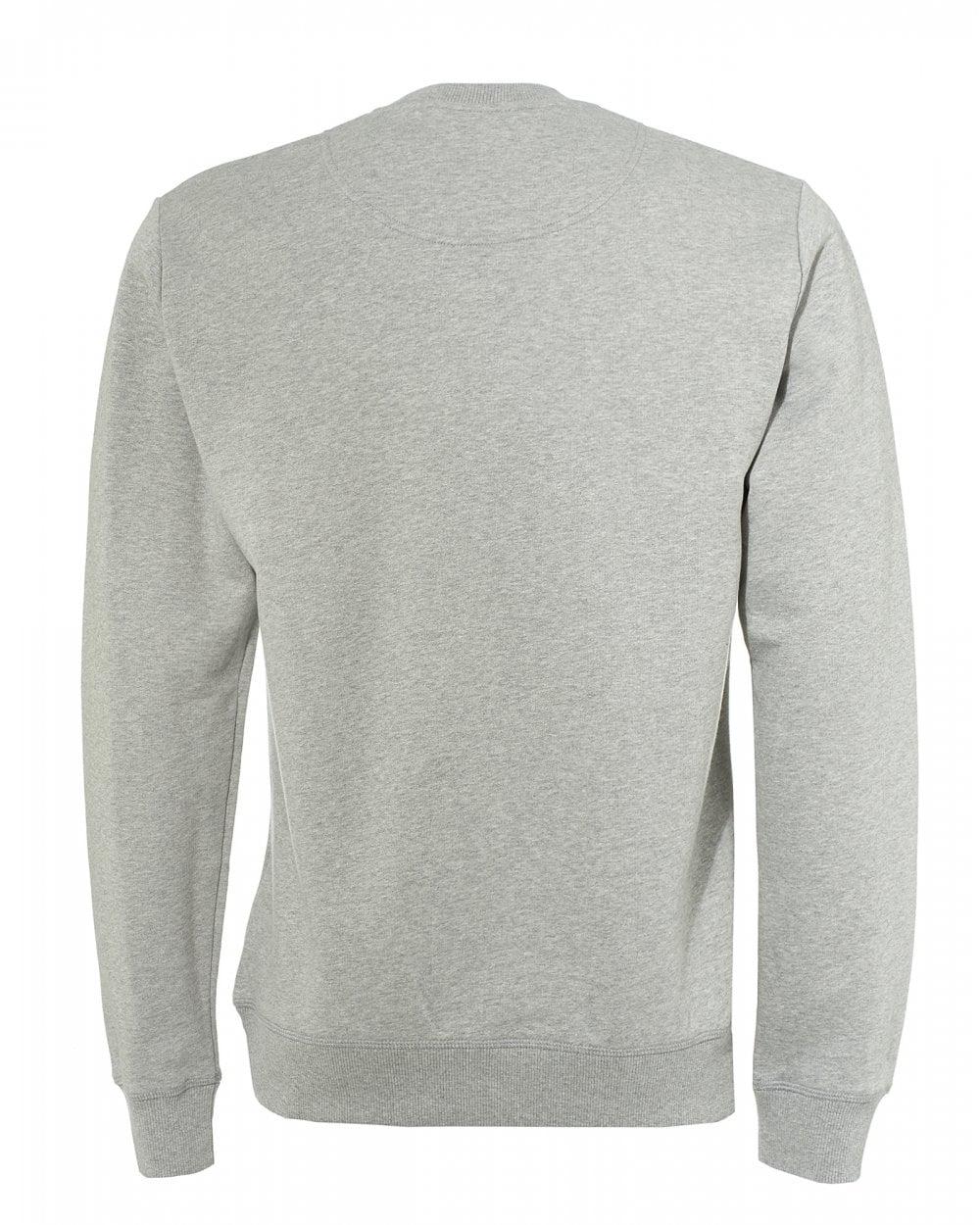 bca6d91df Kenzo Mens Tiger Head Sweatshirt, Pearl Grey Icon Sweat