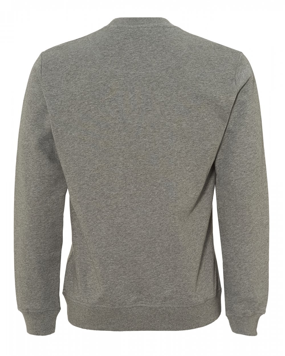 Kenzo Mens Tiger Sweatshirt, Long Sleeve Dove Grey Sweat 66a104b4717