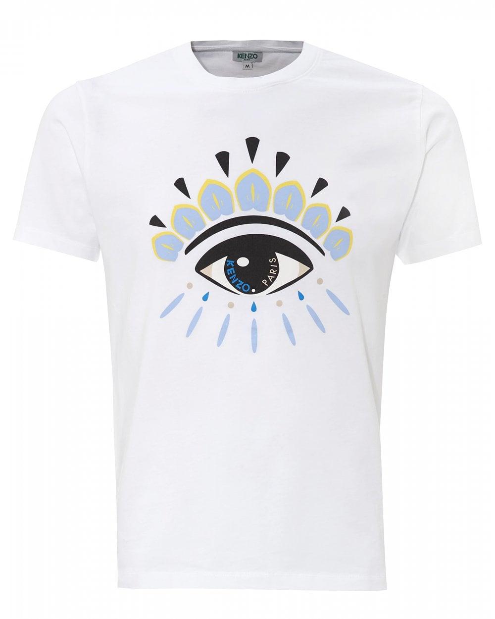 05bf18653 Kenzo White Eye Icon T-Shirt