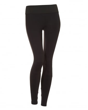 Womens Moto Leggings, Full Length Black Leggings