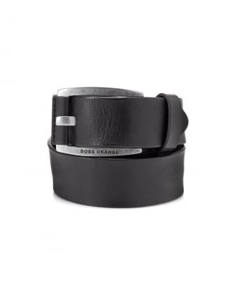 Leather Belt Bakaba-N Black Belt