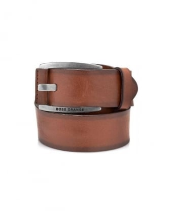 Leather Belt Bakaba-N Brown Belt